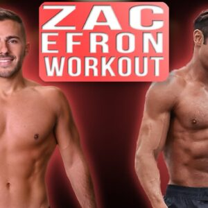 I Trained Like Zac Efron For One Week | Zac Efron's Secret to Getting SHREDDED!