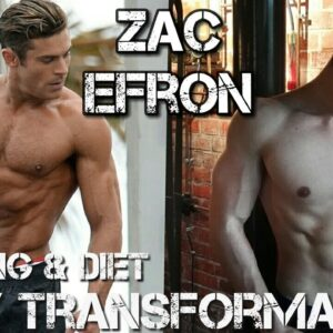 Zac Efron Training and Diet for Baywatch / Body Transformation 16 to 29 / is he NATURAL ?