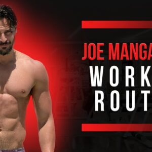 Joe Manganiello Workout Routine Guide