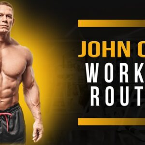 John Cena Workout Routine Guide