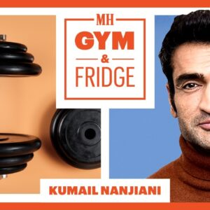 Kumail Nanjiani Shows His Gym & Fridge | Gym & Fridge | Men's Health