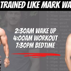 I Lived Like Mark Wahlberg for a Whole Day | High Protein Diet | 4am Workout