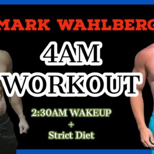 Mark Wahlberg 4am workout club | Day in the Life in my Home Gym