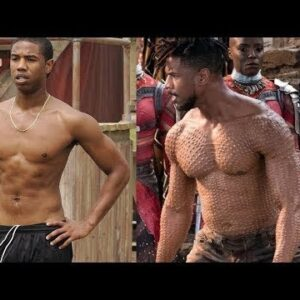 Michael B Jordan | Black Panther workout and diet | Body transformation