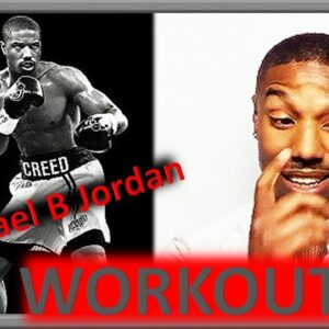 Michael B Jordan boxing training WORKOUT 💪