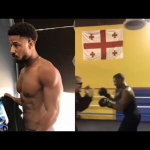 Michael B Jordan Workout Compilation