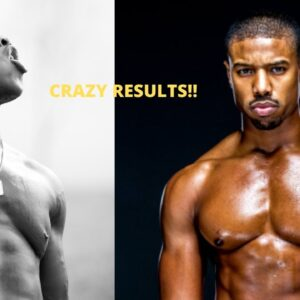 I WORKED OUT LIKE MICHAEL B. JORDAN & GOT CRAZY RESULTS IN 3 WEEKS!!!!!!! | WORKOUT ROUTINE