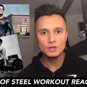 PERSONAL TRAINER reacts to SUPERMAN MAN OF STEEL WORKOUT (Henry Cavill)