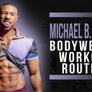 I Tried Michael B Jordan's Top 5 Bodyweight Movements | Home Workout Circuit