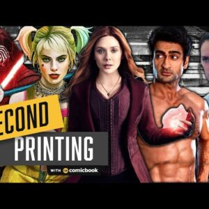 Kumail Nanjiani's Insane Workouts, WandaVision Photos, and Star Wars Reviews - Second Printing