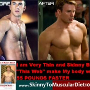 skinny to muscular crish evans to Captain america Workout