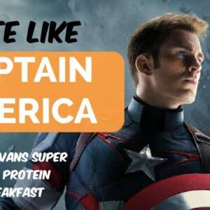 I tried Chris Evan's CAPTAIN AMERICA Breakfast   Super High Protein   CelebrityDiet   Manish Pushkar