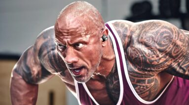 THE ROCK - POWERFUL WORKOUT - DWAYNE JOHNSON MOTIVATION