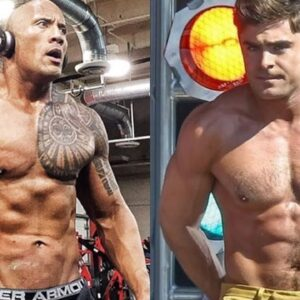 The Rock vs Zac Efron Body Transformation