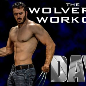 The Wolverine Hugh Jackman Full Workout- Day 1 Chest, Shoulders, Triceps