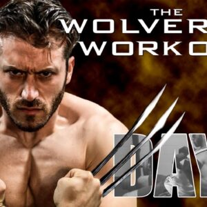 The Wolverine Hugh Jackman Full Workout Day 3- Back and Biceps