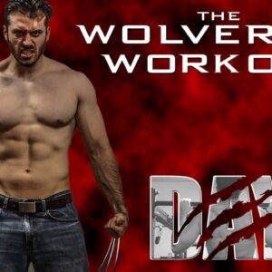 The Wolverine Hugh Jackman's Full Workout Day 4- Chest and Triceps