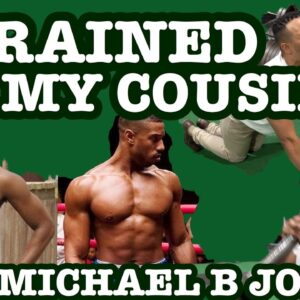 TRAINED LIKE MICHAEL B JORDAN FOR THIS WORKOUT!!!!