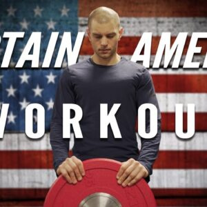 [TRAINING] - Captain America Infinity War Workout Inspired by Chris Evans