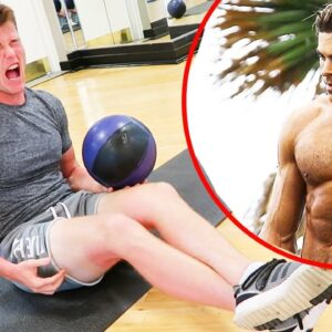 Trying Zac Efron's Sad Baywatch Ab Workout (PAINFUL)