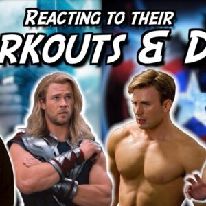 We React to Captain America & Thor Workout & Diet Regimens!