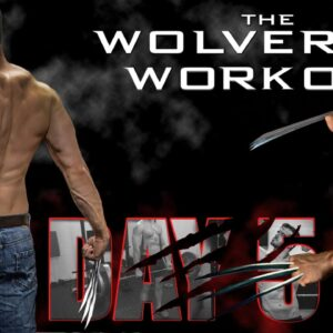 The Wolverine Hugh Jackman's Full Workout Day 5- Deadlifts, Zercher Squat, Abs