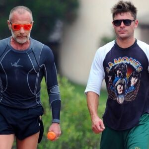Zac Efron and Gianluca Vacchi Training/Workout