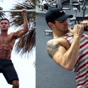 ZAC EFRON OFFICIAL WORKOUT | Back, Biceps, and Abs