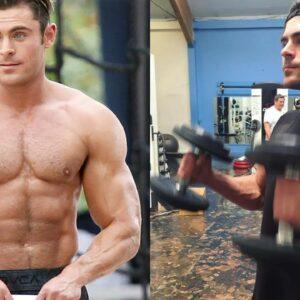 Zac Efron - Posing and Training 2018