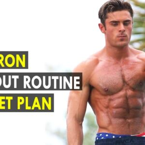 Zac Efron Workout Routine & Diet Plan || Health Sutra - Best Health Tips
