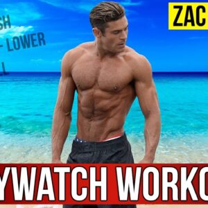 Zac Efron Workout Routine For Baywatch 2017 (Celebrity Workout Routine)